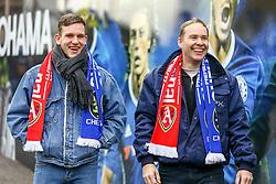 Chelsea fans gather outside Stamford Bridge - Mandatory by-line: Jason Brown/JMP - 04/01/2017 - FOOTBALL - Stamford Bridge - London, England - Chelsea v Arsenal - Premier League