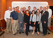 14 students from the College of Agricultural Sciences and Natural Resources were tapped as Top Twenty Men and Women. Reception to recognize the students with representatives from their home departments.