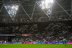 LONDON, ENGLAND - Wednesday, January 29, 2020: Empty seats during the FA Premier League match between West Ham United FC and Liverpool FC at the London Stadium. (Pic by David Rawcliffe/Propaganda)