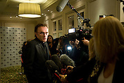 Danny Boyle; The London Critics' Circle Film Awards 2009 in aid of the NSNCC. Grosvenor House Hotel . Park Lane. London. 4 February 2009 *** Local Caption *** -DO NOT ARCHIVE -Copyright Photograph by Dafydd Jones. 248 Clapham Rd. London SW9 0PZ. Tel 0207 820 0771. www.dafjones.com<br /> Danny Boyle; The London Critics' Circle Film Awards 2009 in aid of the NSNCC. Grosvenor House Hotel . Park Lane. London. 4 February 2009