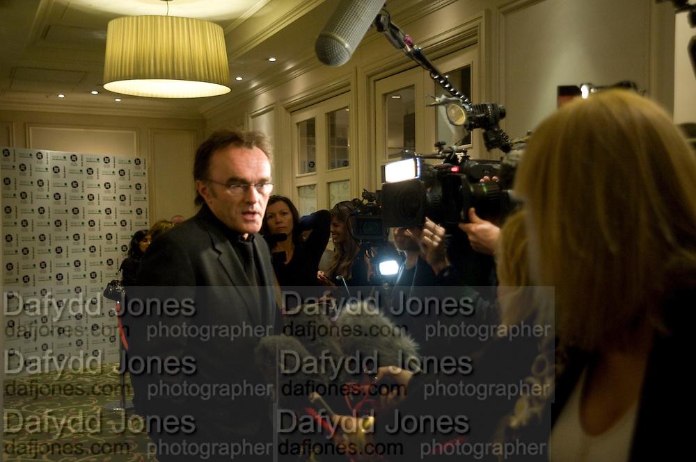 Danny Boyle; The London Critics' Circle Film Awards 2009 in aid of the NSNCC. Grosvenor House Hotel . Park Lane. London. 4 February 2009 *** Local Caption *** -DO NOT ARCHIVE -Copyright Photograph by Dafydd Jones. 248 Clapham Rd. London SW9 0PZ. Tel 0207 820 0771. www.dafjones.com<br /> Danny Boyle; The London Critics' Circle Film Awards 2009 in aid of the NSNCC. Grosvenor House Hotel . Park Lane. London. 4 February 2009