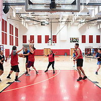 A basketball game between the faculty and staff of Navajo Technical University and Diné College, Saturday, Feb. 2 at NTU in Crownpoint.