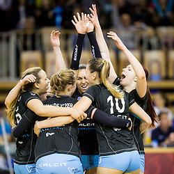 20160427: SLO, Volleyball - 1. DOL, Women, Calcit Ljubljana vs Nova KBM Branik