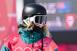 February 19, 2018 - Pyeongchang, SOUTH KOREA - 180219 Jessica Rich of Australia competes in the Women's Big Air Qualification during day ten of the 2018 Winter Olympics on February 19, 2018 in Pyeongchang..Photo: Carl Sandin / BILDBYRÃ…N / kod CS / 57999_306 (Credit Image: © Carl Sandin/Bildbyran via ZUMA Press)