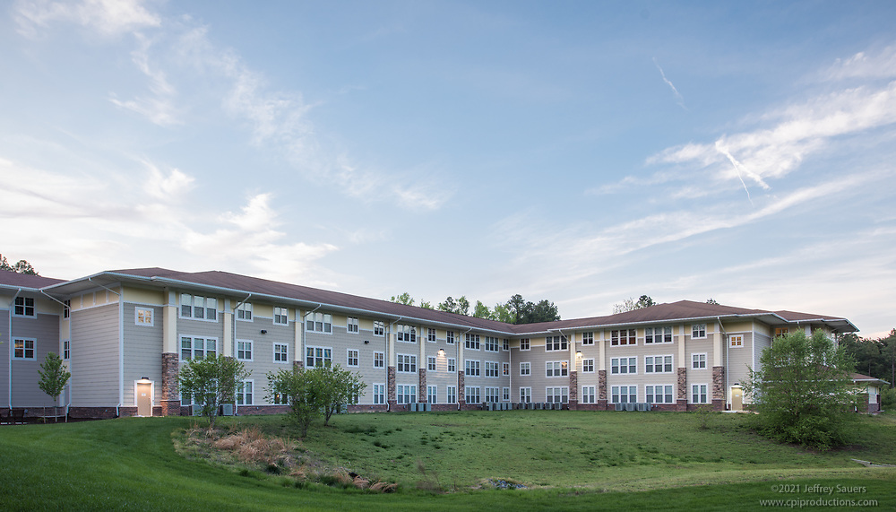 Architectural image of Naylor Mills Senior Apartments in Salisbury Maryland by Jeffrey Sauers of Commercial Photographics, Architectural Photo Artistry in Washington DC, Virginia to Florida and PA to New England