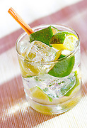 Mojito,rum drink with lime
