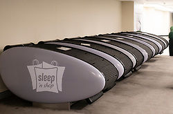 Sleep Pod Lounge inside Dubai Mall, UAE,