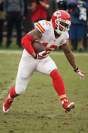 December 06 2015: Wide Receiver Albert Wilson of the Kansas City Chiefs during a 34-20 victory over the Oakland Raiders at O.co Stadium in Oakland, Ca. (Photo by Rob Holt/MMS)