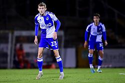 Tom Mehew of Bristol Rovers - Mandatory by-line: Ryan Hiscott/JMP - 28/08/2020 - FOOTBALL - Memorial Stadium - Bristol, England - Bristol Rovers v Cardiff City - Pre Season Friendly