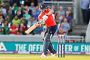 Jason Roy batting for England during the International T20 match between England and Pakistan at the Emirates, Old Trafford, Manchester, United Kingdom on 7 September 2016. Photo by Craig Galloway.