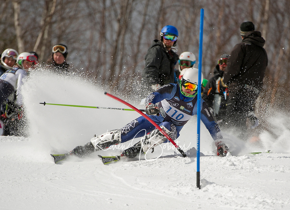 Lafoley Spring slalom at Waterville Saturday, March 16, 2013.  Karen Bobotas Photographer