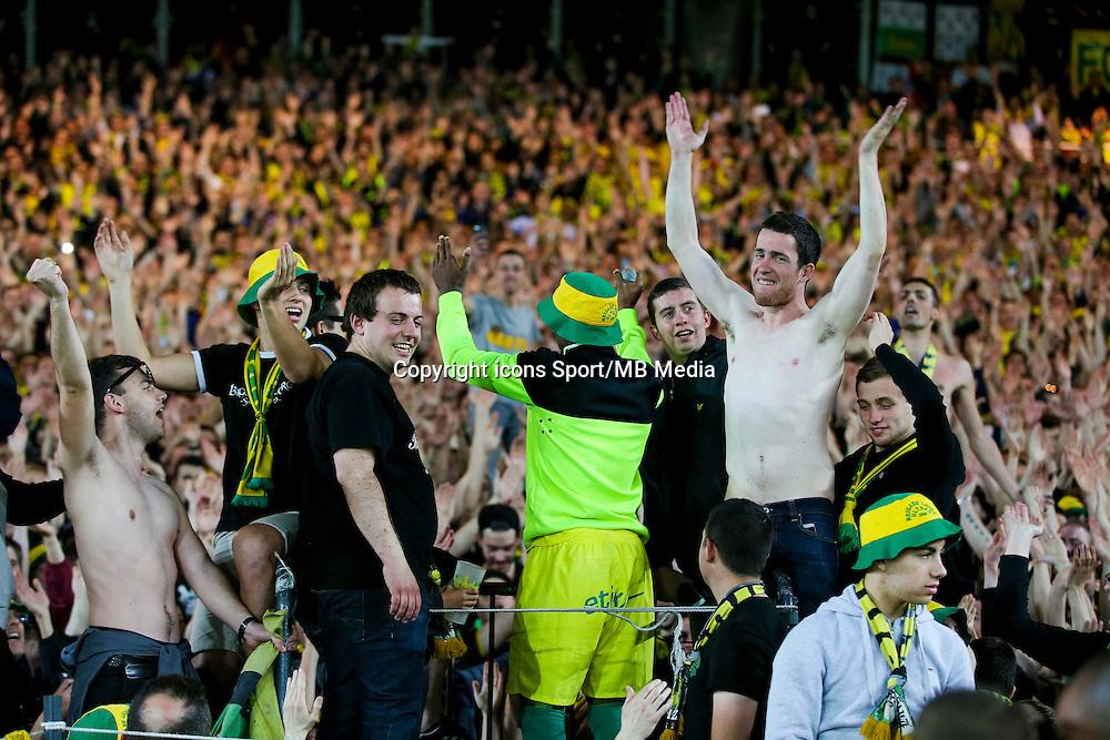 Serge GAKPE / Supporters Nantes - 16.05.2015 - Nantes / Lorient - 37eme journee de Ligue 1<br />Photo : Vincent Michel / Icon Sport