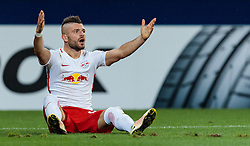 15.09.2016, Red Bull Arena, Salzburg, AUT, UEFA EL, FC Red Bull Salzburg vs FC Krasnodar, Gruppe I, 1. Runde, im Bild Valon Berisha (FC Red Bull Salzburg) //during the UEFA Europa League, group I, 1st round match between FC Red Bull Salzburg and FC Krasnodar at the Red Bull Arena in Salzburg, Austria on 2016/09/15. EXPA Pictures © 2016, PhotoCredit: EXPA/ JFK