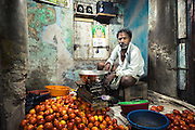 Market Vendor - Chennai, India