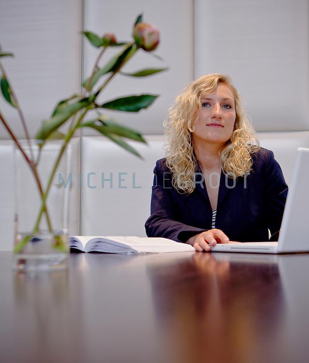 Karolina Sikorska, rechtenstudent aan de RuG in Groningen, The Netherlands op June  12, 2009. (photo by Michel de Groot)
