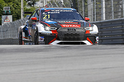 June 23, 2018 - Vila Real, Vila Real, Portugal - Aurelien Panis from France in Audi RS 3 LMS of Comtoyou Racing during the Race 1 of FIA WTCR 2018 World Touring Car Cup Race of Portugal, Vila Real, June 23, 2018. (Credit Image: © Dpi/NurPhoto via ZUMA Press)