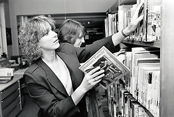 County library, Nottingham, UK 1987