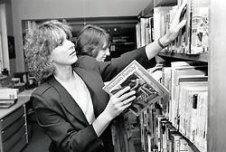 County library, Nottingham, UK 1987