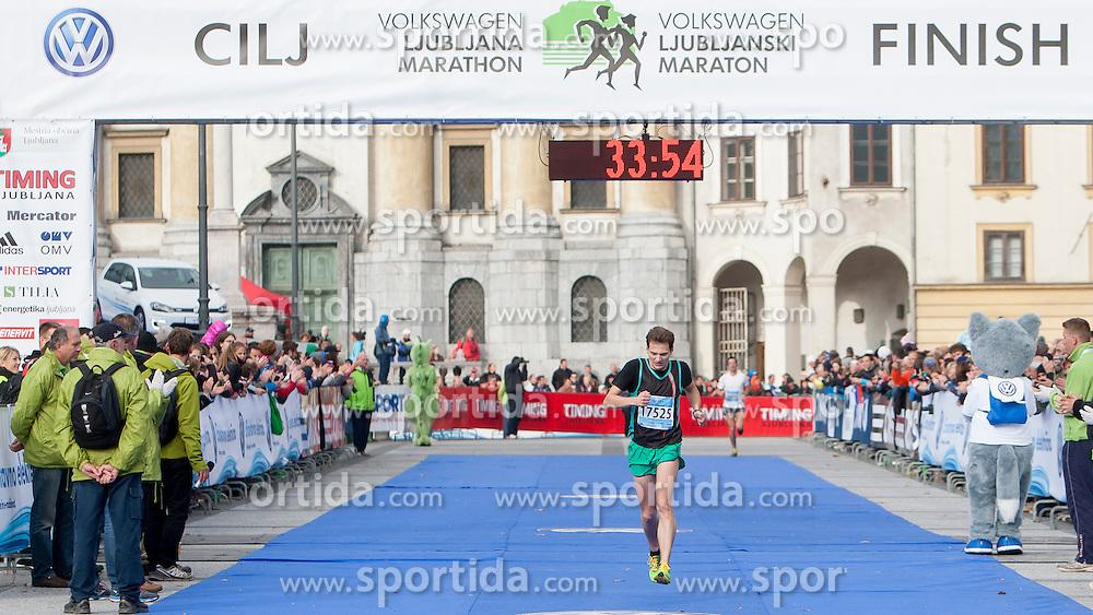 Bostjan Vimpolsek during 19th Ljubljana Marathon 2014 on October 26, 2014 in Ljubljana, Slovenia. Photo by Urban Urbanc / Sportida.com