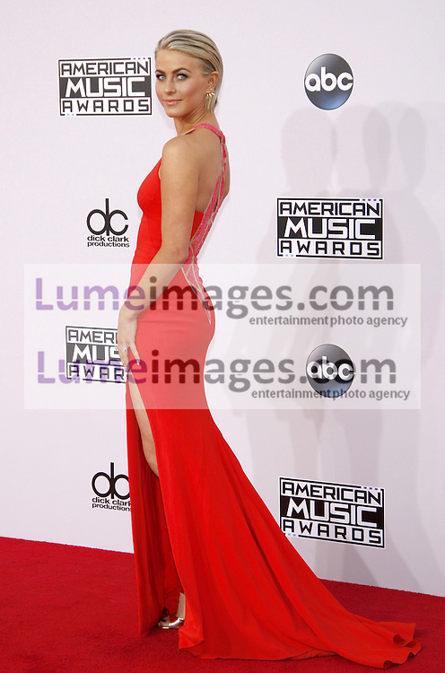 Julianne Hough at the 2014 American Music Awards held at the Nokia Theatre L.A. Live in Los Angeles on November 23, 2014 in Los Angeles, California. Credit: Lumeimages.com