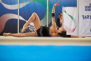 Salome Pazhava from Pontevecchio team during the Italian Rhythmic Gymnastics Championship in Padova, 25 November 2017.
