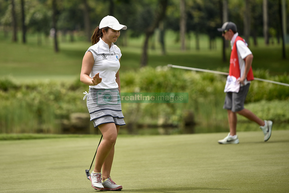 October 26, 2017 - Kuala Lumpur, Malaysia - Su Oh of Australia during day one of the Sime Darby LPGA Malaysia at TPC Kuala Lumpur on October 26, 2017 in Kuala Lumpur, Malaysia. (Credit Image: © Chris Jung/NurPhoto via ZUMA Press)