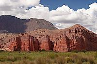 QUEBRADA DE LAS CONCHAS, LOS CASTILLOS, PROV. DE SALTA, ARGENTINA