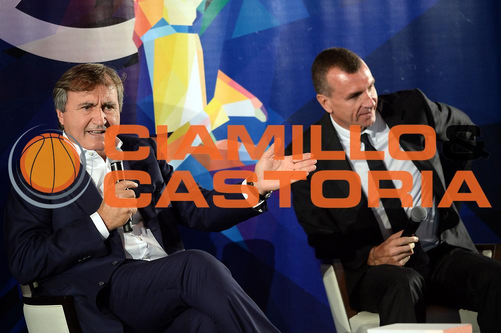 Luigi Brugnaro<br /> Presentazione Campionato Serie A Poste Mobile 2017/18<br /> Lega Basket Serie A 2017/2018<br /> Castel San Pietro Terme, 25/09/2017<br /> Foto M.Ceretti / Ciamillo - Castoria