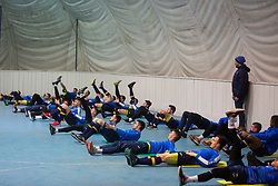 Players during Training of NK Domzale, on January 10, 2018 in Sports park Domzale, Domzale, Slovenia. Photo by Ziga Zupan / Sportida