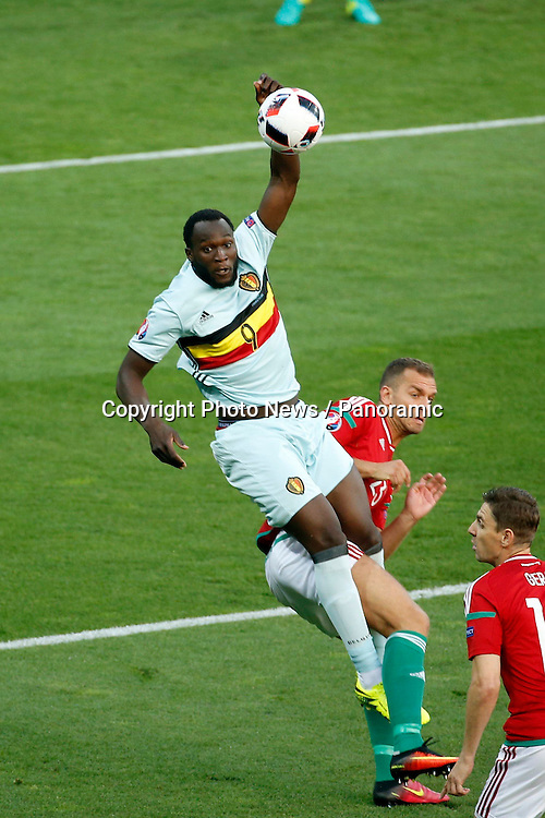 TOULOUSE, FRANCE - JUNE 26 : Romelu Lukaku forward of Belgium