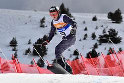 SCHETT Reinhold, SB-LL1, AUT, Banked Slalom at the WPSB_2019 Para Snowboard World Cup, La Molina, Spain