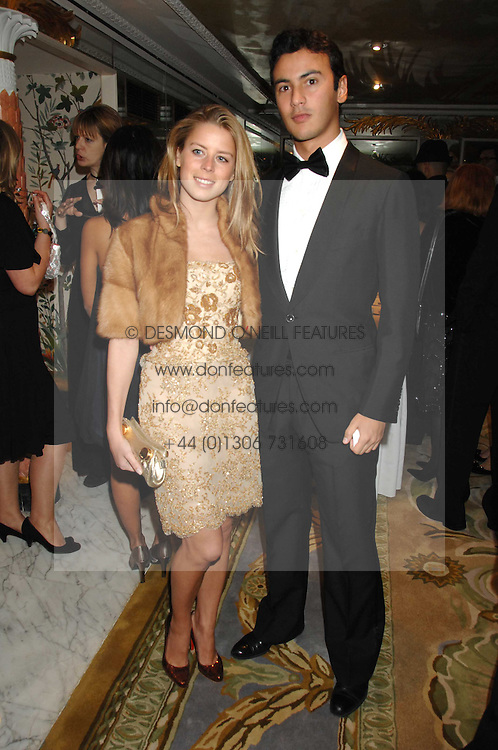 TANCREDI SIGNORELLI and LYDIA FORTE at the Chain of Hope Ball held at The Dorchester, Park Lane, London on 4th February 2008.<br /><br />NON EXCLUSIVE - WORLD RIGHTS