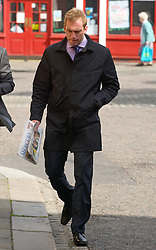 **CAPTION CORRECTION**© Licensed to London News Pictures. 31/05/2011. Adam Cottrel arrives at Hertford Magistrates Court. He is charghed with beating up ex-fiance and ex-Eastenders star Natalie Cassidy . Photo credit should read: London News Pictures