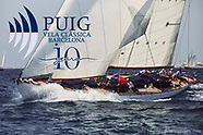 10TH PUIG VELA CLASSICA BARCELONA - RODEO SAILING ON GAFF RIG YAWL VERONIQUE