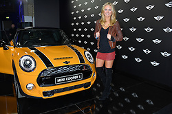 Monday 18th November 2013 saw a host of London hipsters, social faces and celebrities, gather together for the much-anticipated World Premiere of the brand new MINI.<br /> Attendees were among the very first in the world to see and experience the new MINI, exclusively revealed to guests during the party. Taking place in the iconic London venue of the Old Sorting Office, 21-31 New Oxford Street, London guests enjoyed a DJ set from Little Dragon, before enjoying an exciting live performance from British band Fenech-Soler.<br /> Picture Shows:-KIMBERLY GARNER