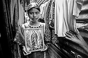 """Triqui Indians commuity of migrants from Oaxaca. They lives in shanty towns or in abandoned old houses.  in More than 400.000 Indians live in the heart of the one of the largest megalopoli on earth — Mexico City. Tenaciously clinging to to ancient traditions, they continue to have ties to their homes so strong that some researchers define these urban groups as """"embassies"""" for their distant villages."""