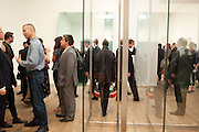 WOLFGANG TILLMANS, Gerhard Richter: Panorama. Tate Modern. London. 4 October 2011. <br /> <br />  , -DO NOT ARCHIVE-© Copyright Photograph by Dafydd Jones. 248 Clapham Rd. London SW9 0PZ. Tel 0207 820 0771. www.dafjones.com.