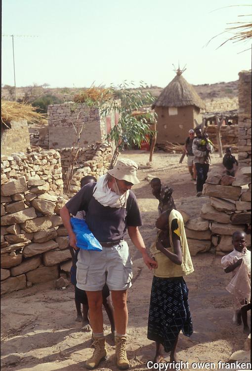 Pierre Gagnaire in Mali, 2002...Photograph by Owen Franken