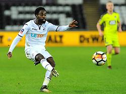 Nathan Dyer of Swansea City shoots at goal - Mandatory by-line: Nizaam Jones/JMP - 06/02/2018 - FOOTBALL - Liberty Stadium - Swansea, Wales - Swansea City v Notts County - Emirates FA Cup fourth round proper