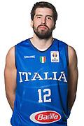 Ariel Filloy<br /> Nazionale Italiana Maschile Senior - Headshot<br /> FIP 2017<br /> Torino, 20/11/2017<br /> Foto M.Ceretti / Ciamillo-Castoria
