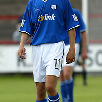Brechin v St Johnstone....Pre-season friendly..17.07.04<br />Lee Hardy<br />Picture by Graeme Hart.<br />Copyright Perthshire Picture Agency<br />Tel: 01738 623350  Mobile: 07990 594431