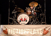 Drummer Pete Wilhoit of Fiction Plane performs at Madison Square Garden on Wednesday, August 1, 2007 in New York.