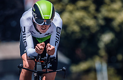 06.07.2019, Wels, AUT, Ö-Tour, Österreich Radrundfahrt, Prolog, Einzelzeitfahren (2,5 km), im Bild Ben O'Connor (Team Dimension Data, AUS) // during the prolog, Individual time trial (2,5 Km) of the 2019 Tour of Austria. Wels, Austria on 2019/07/06. EXPA Pictures © 2019, PhotoCredit: EXPA/ JFK