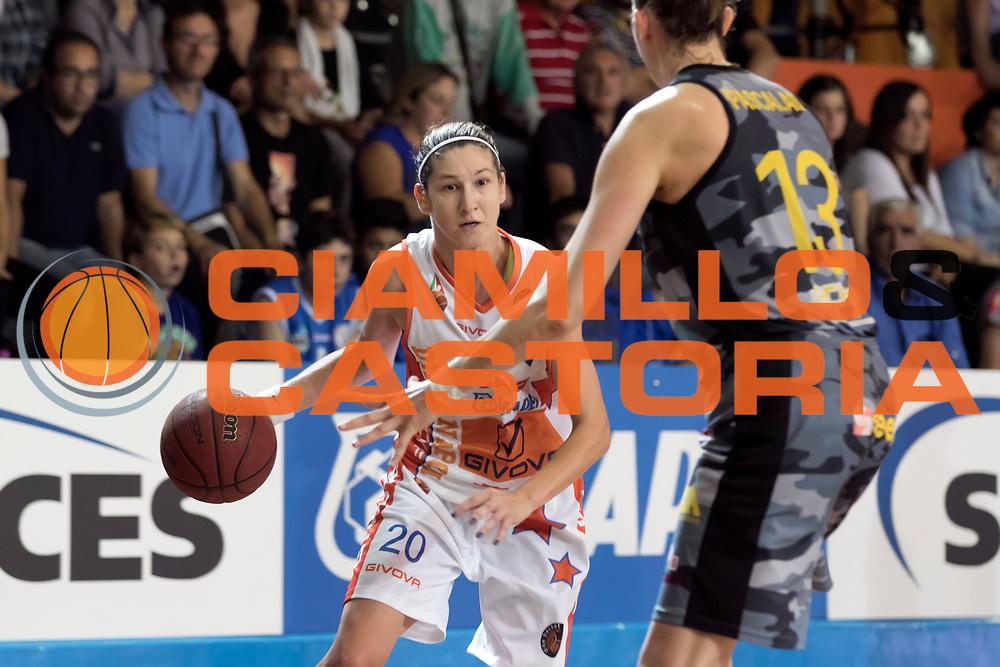 DESCRIZIONE : Napoli Lega A1 Femminile 2015-16 Opening Day 2015 Fila San Martino Sapes Mapei Givova Dike Napoli<br /> GIOCATORE : Jelena Ivezic<br /> SQUADRA : Sapes Mapei Givova Dike Napoli<br /> EVENTO : Campionato Lega A1 Femminile 2015-2016 <br /> GARA : Fila San Martino Sapes Mapei Givova Dike Napoli <br /> DATA : 03/10/2015<br /> CATEGORIA : <br /> SPORT : Pallacanestro <br /> AUTORE : Agenzia Ciamillo-Castoria/A. De Lise<br /> Galleria : Lega Basket Femminile<br /> 2015-2016 <br /> Fotonotizia : Napoli Lega A1 Femminile 2015-16 Opening Day 2015 Fila San Martino Sapes Mapei Givova Dike Napoli<br /> Predefinita :
