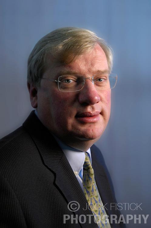BRUSSELS,  BELGIUM - DEC-04-2006 - Jean-Marie Van Triel , CEO of BASF , a Belgian chemical company. (PHOTO &copy; JOCK FISTICK)<br />