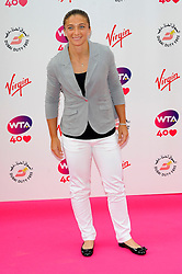 Wimbledon Party<br /> Sara Errani attends the annual pre-Wimbledon party at Kensington Roof Gardens,<br /> London, United Kingdom<br /> Thursday, 20th June 2013<br /> Picture by Chris  Joseph / i-Images