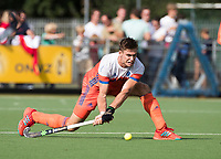 WAALWIJK -  RABO SUPER SERIE . Sander de Wijn (Ned)  tijdens  de hockeyinterland heren  Nederland-India (3-4),  ter voorbereiding van het EK,  dat vrijdag 18/8 begint.  COPYRIGHT KOEN SUYK