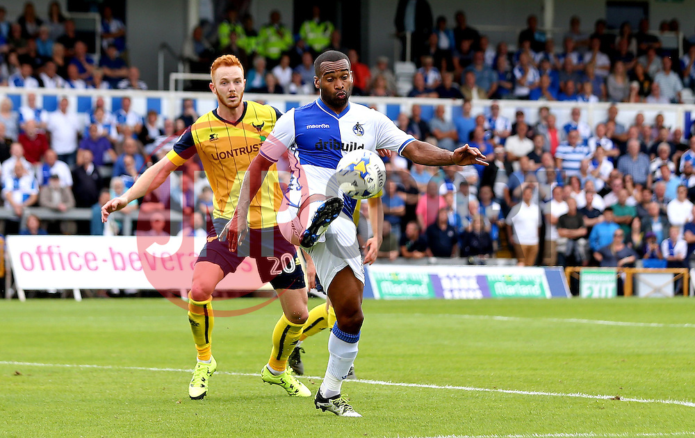 Jermaine Easter of Bristol Rovers controls the ball - Mandatory by-line: Robbie Stephenson/JMP - 14/08/2016 - FOOTBALL - Memorial Stadium - Bristol, England - Bristol Rovers v Oxford United - Sky Bet League One