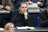 14 FEB 2019, BERLIN/GERMANY:<br /> Dr. Gottfried Curio, MdB, AfD, Bundestagsdebatte, Plenum, Deutscher Bundestag<br /> IMAGE: 20190214-01-039<br /> KEYWORDS: Bundestag, Debatte