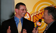 Robert Irvine (left) is interviewed by Marc Summers at the First Food Network Awards Show at the Jackie Gleason Theater  of the Performing Arts, in Miami Beach, FL on  Feb 23, 2007.  (Photo/Lance Cheung) <br /> <br /> PHOTO COPYRIGHT 2007 LANCE CHEUNG<br /> This photograph is NOT within the public domain.<br /> This photograph is not to be downloaded, stored, manipulated, printed or distributed with out the written permission from the photographer. <br /> This photograph is protected under domestic and international laws.